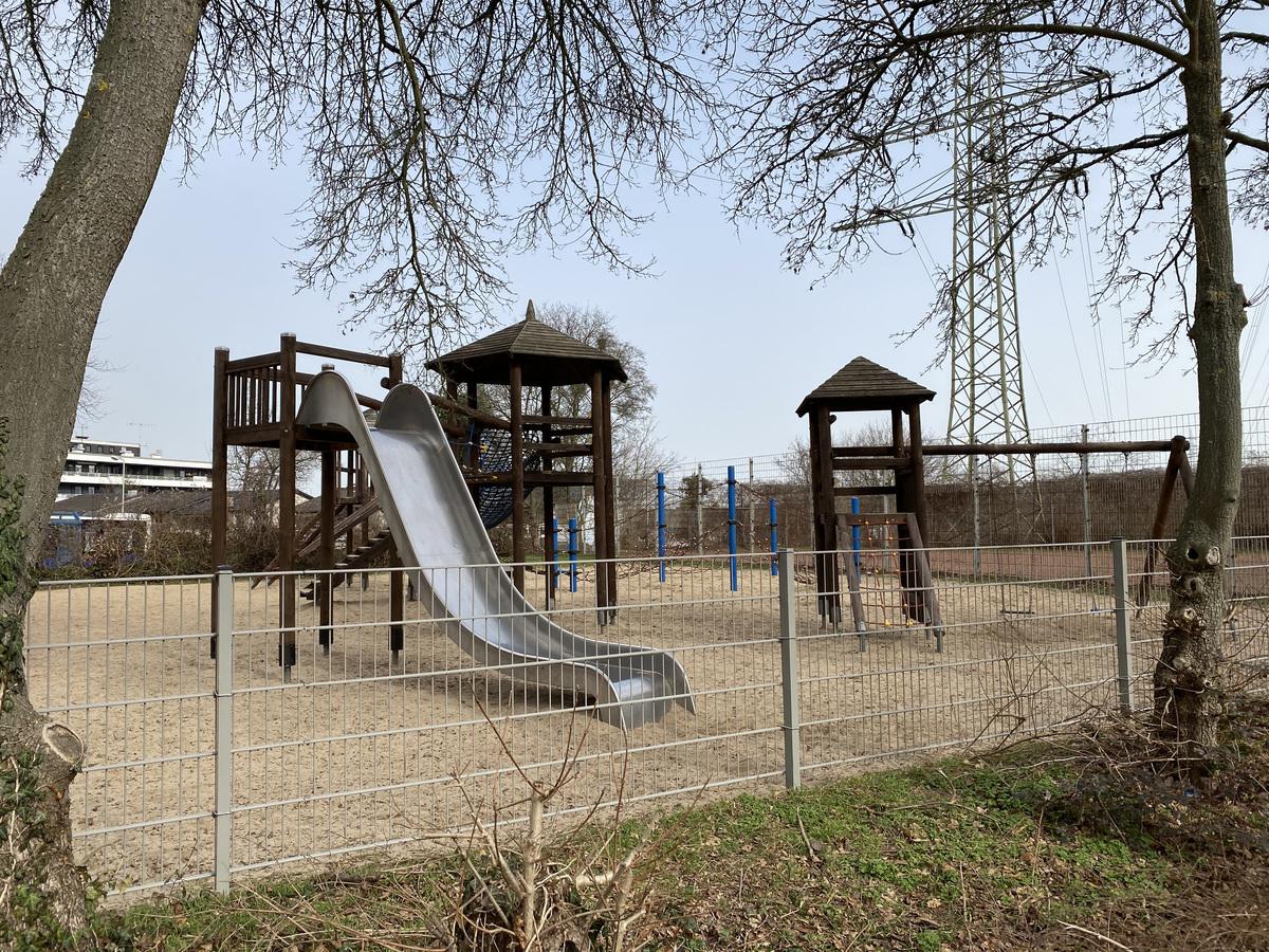 Einblick Spielplatz