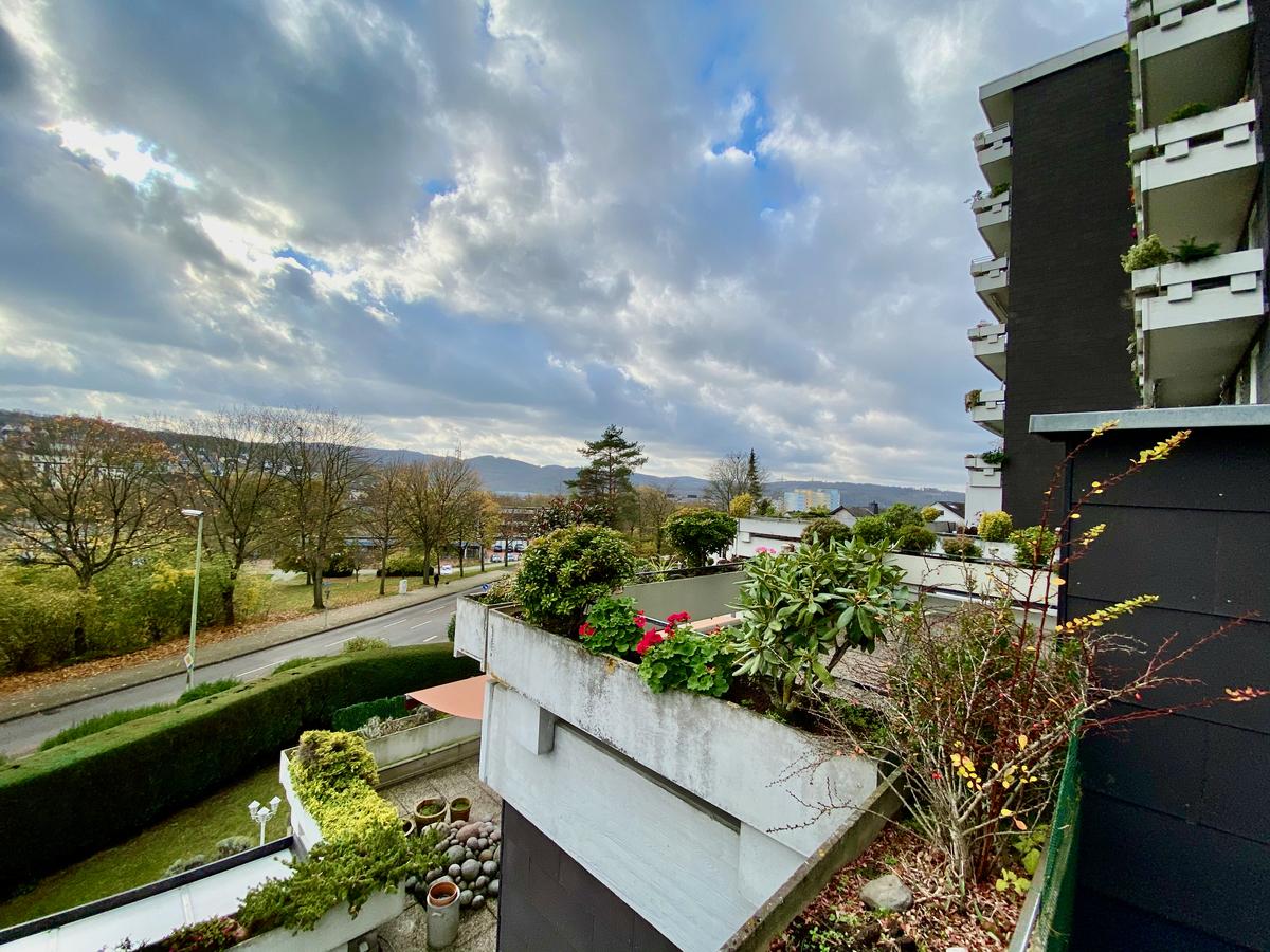 Süd-West, Blick von der Terrasse